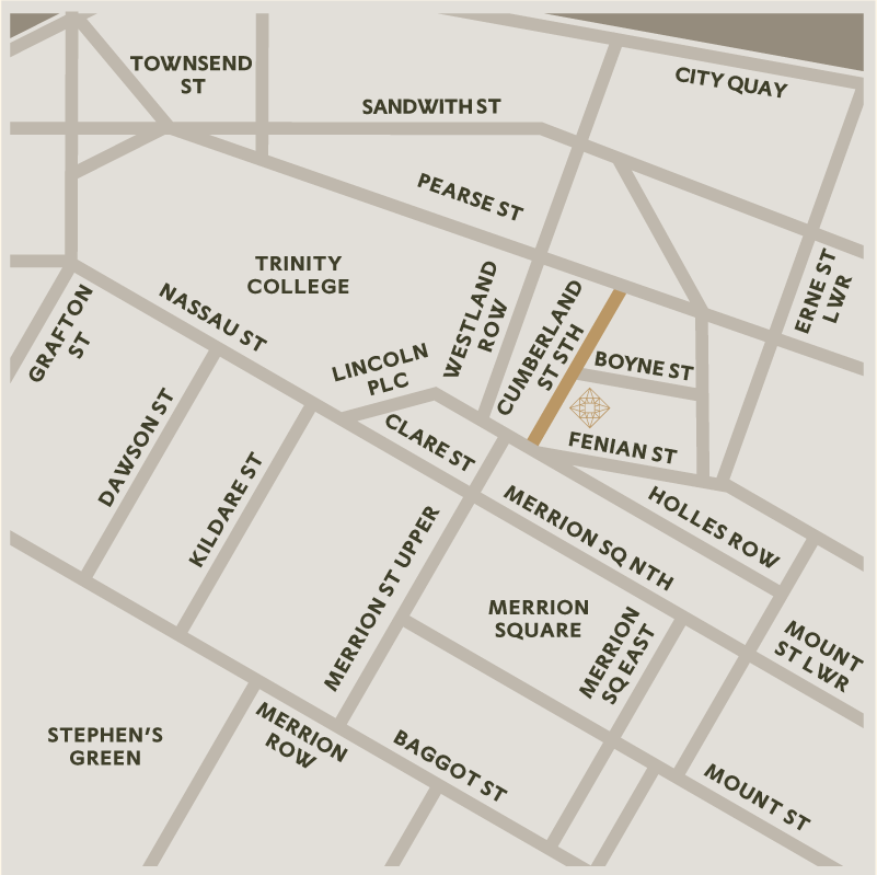 Map - Merrion Vaults