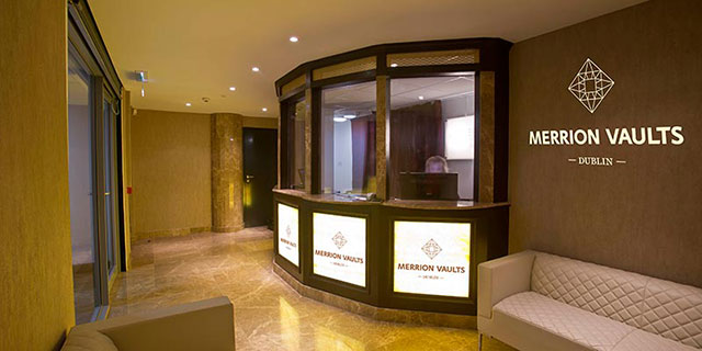 Merrion Vaults Secure Storage reception area
